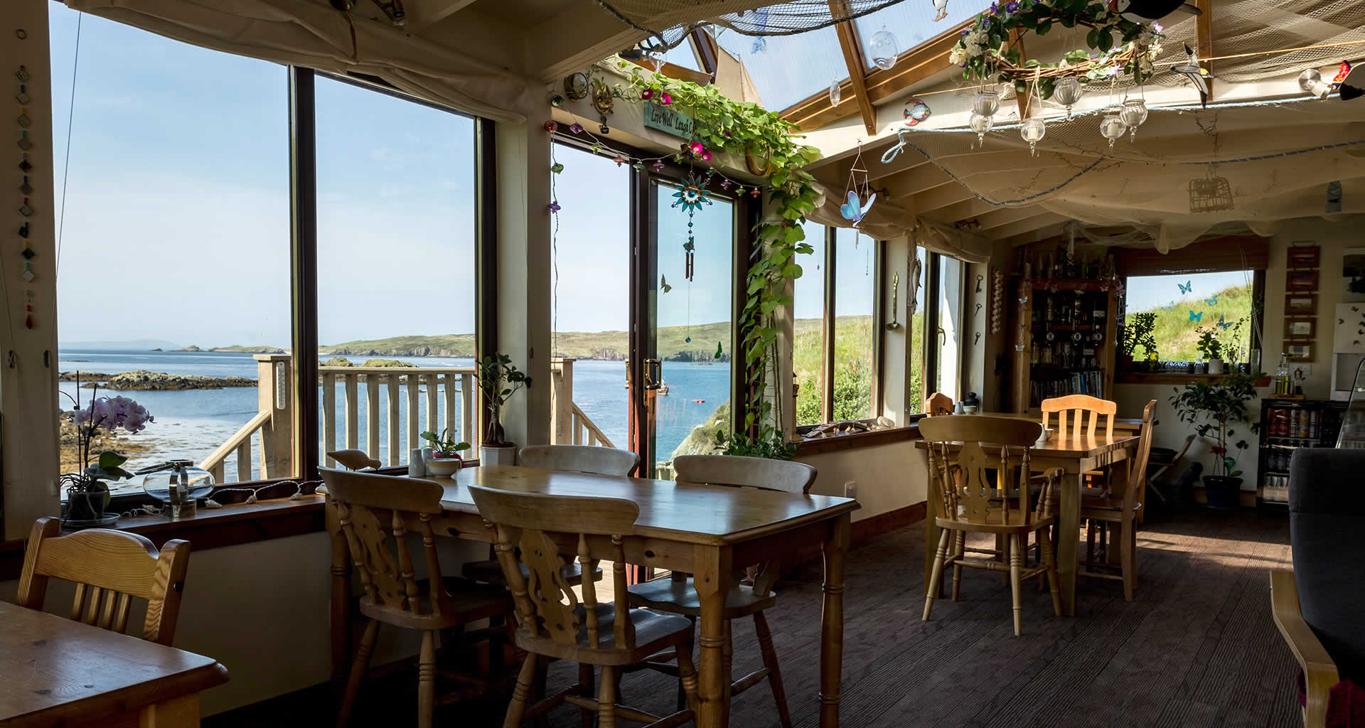 Shorehouse Seafood Restaurant Tarbet Scourie